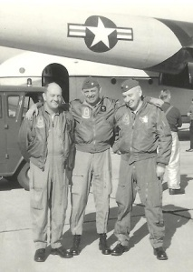 Joe Doyle (right) with Gene Tippy (left) and Joe Pound.