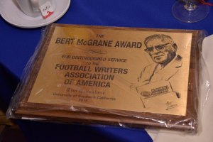 The Bert McGrane Award
