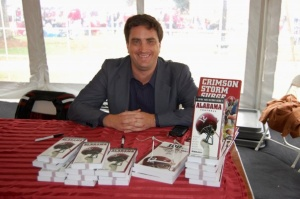 Christopher Walsh at one of his many book signings. Photo Courtesy of Christopher Walsh.