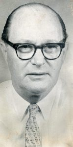 Si Burick, 1984 winner of the Bert McGrane Award.