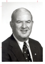 "Jim ""Hoss"" Brock, 1989 winner of the Bert McGrane Award"