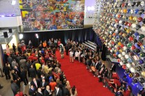 The red carpet entrance for the College Football Awards Show at the College Football Hall of Fame in Atlanta. (Photo by Richard Ducree / ESPN Images)