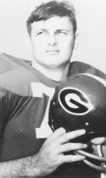 Bill Stanfill, winner of the Outland Trophy in 1968.