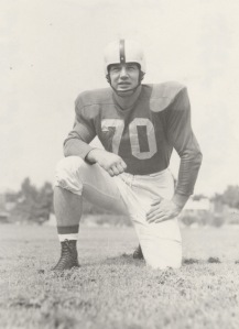 Bob Gain, 1950 Outland Trophy winner.
