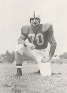 Bob Gain, 1950 Outland Trophy winner.