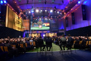 The Home Deport College Football Awards Show at the NFF College Football Hall of Fame in Atlanta. (Photo by Phil Ellsworth / ESPN Images)