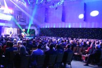 The auditorium at the College Football Awards Show. Photo by Andy Crawford.