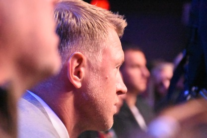 Scott Frost, who was named the Home Depot Coach of the Year for leading the University of Central Florida to an unbeaten season, at the College Football Awards Show. Frost has agreed to become head coach at his alma mater, Nebraska. Photo by Andy Crawford.