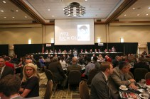 The scene at the Outland Trophy presentation dinner. C41Photography.