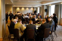 Crowd picture at the 2019 Breakfast. (Photo by Melissa Macatee)