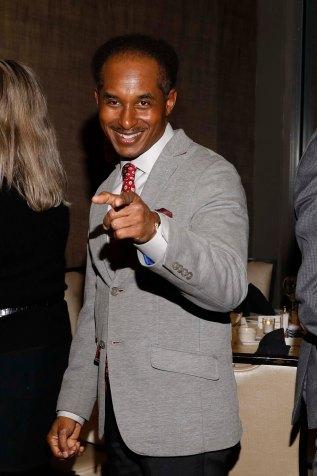 Eddie Robinson III at FWAA Past Presidents' Dinner. (Photo by Melissa Macatee)