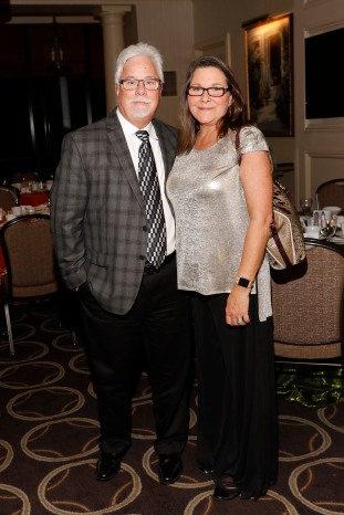 2011 President Tommy Hicks and his wife, Julie. (Photo by Melissa Macatee)